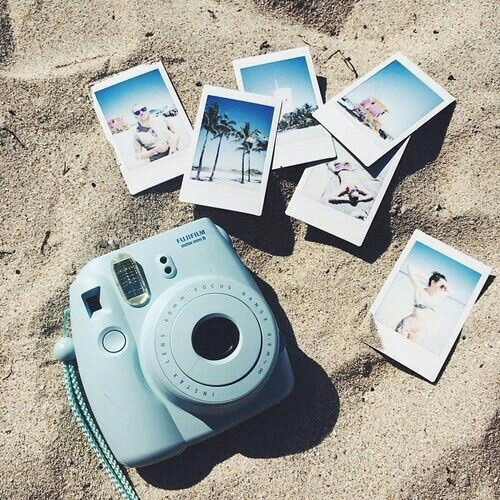 beach, holiday, and photograph image