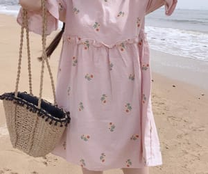 baby pink, kfashion, and outfit image