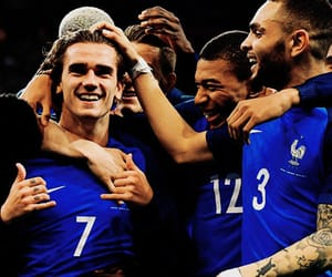 football, equipe de france, and griezmann image