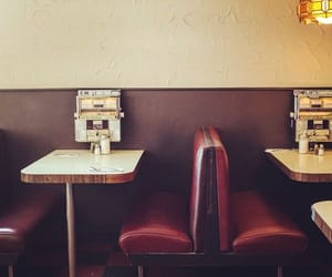 diner, restaurant, and food image