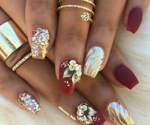 fashion, dorado, and nails image