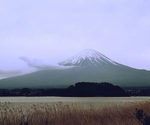 fuji, nature, and japan image