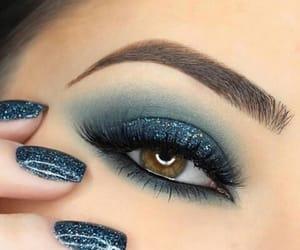 beauty, blue, and eyes image