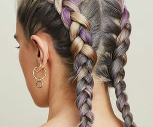 accesories, braid, and braids image