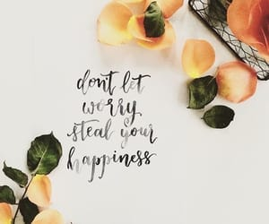 happiness, quotes, and orange image