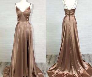 prom dress, simple prom dress, and prom season image
