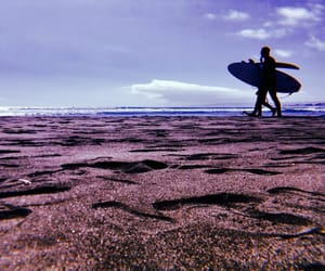 beach, surf, and summer beach surf image