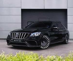 benz, luxury, and mercedes image