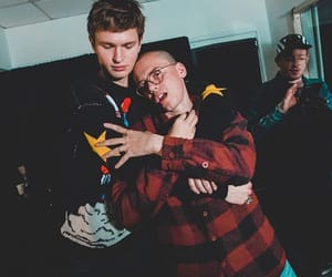 logic and ansel elgort image