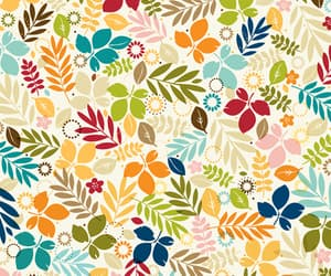 background, colourful, and flowers image