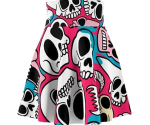 goth, skull, and patch image