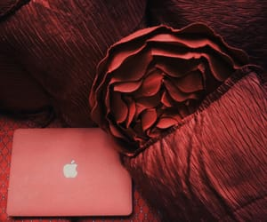 aesthetic, apple, and macbook image