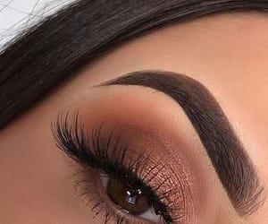 eye liner, eyes, and makeup image