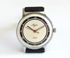 etsy, USSR, and mechanical watch image