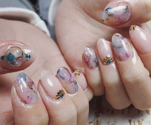 abstract, aesthetic, and nail image