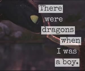 boy, dragons, and easel image