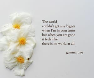 flower, lose, and quote image