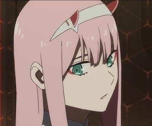 zero two and darling in the franxx image
