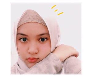 girl, hijab, and Nude image