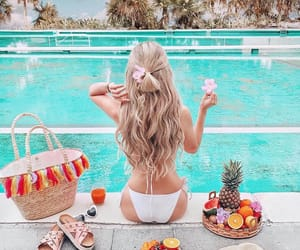 food, girl, and summer image