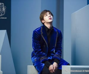 blue, bts, and jin image