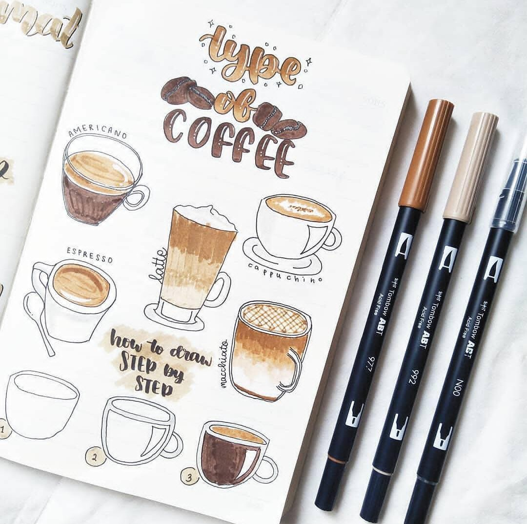 bullet journal and art image