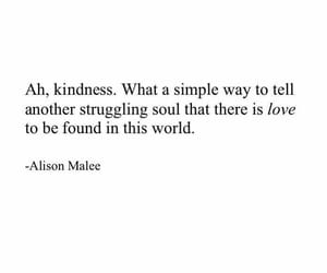 quotes, kindness, and world image