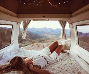 adventure, travel, and van image