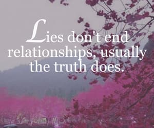 end, Relationship, and lie image