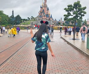 castle, clothes, and disney image