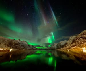 nature, northern lights, and travel image