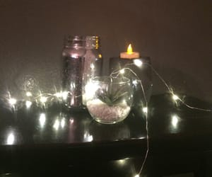 aesthetic, candle, and night image