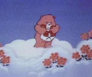 aesthetic, bear, and clouds image