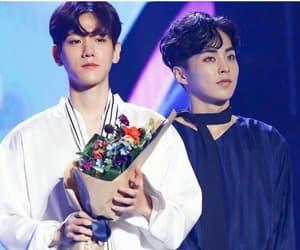 em, baekhyun, and exo image