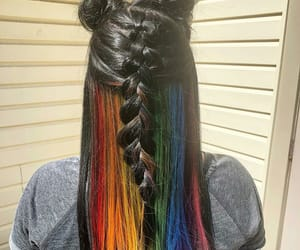 cool hair, hair, and hairstyle image