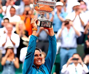 champion, Rafael Nadal, and roland garros image