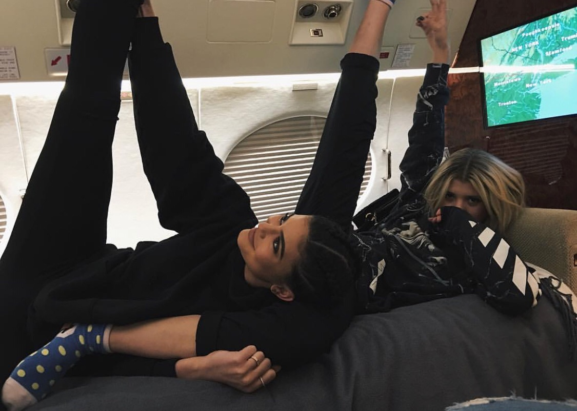 kylie jenner, friends, and sofia richie image