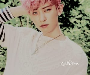 edit, park chanyeol, and exo image