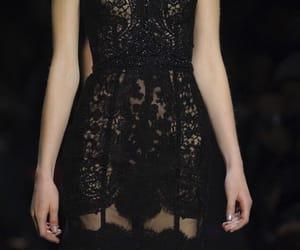 black, dress, and classy image