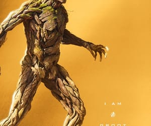 Marvel, groot, and Avengers image