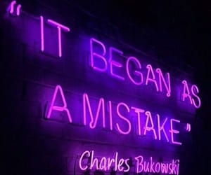 quotes, purple, and neon image