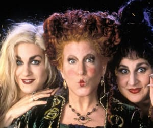 90's, hocus pocus, and witch image
