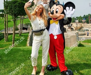 mickey mouse, beauty, and disneyland image
