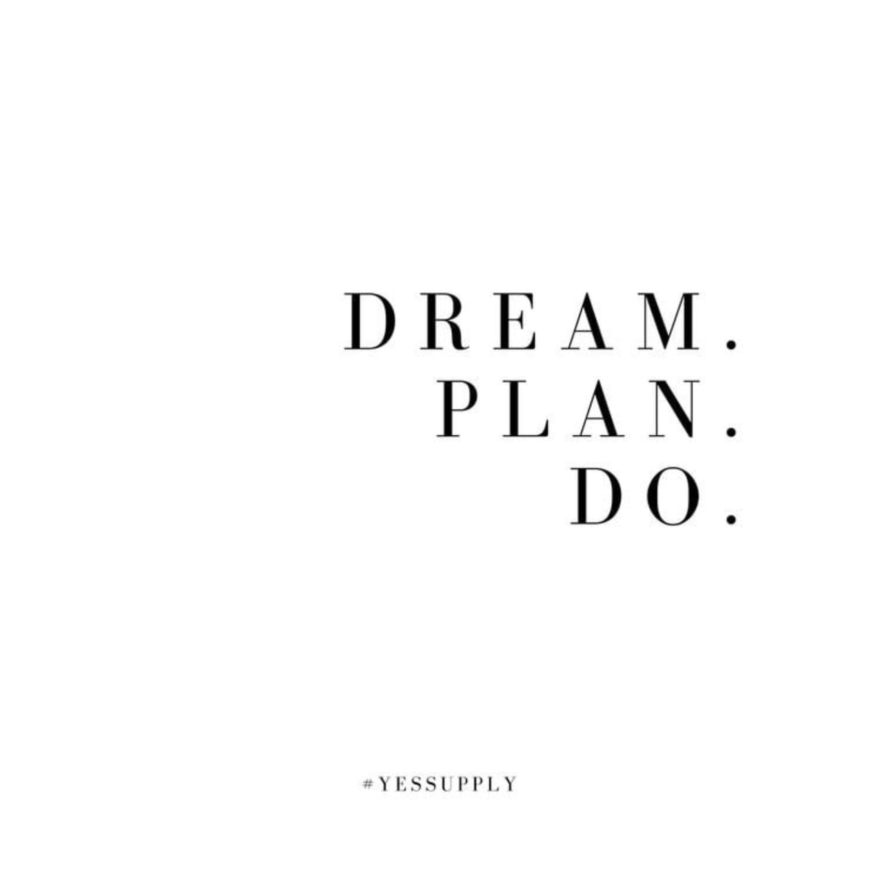 Set your goals for the new week now!♡ on We Heart It