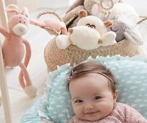 baby, girl, and happiness image