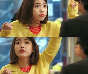 beauty, food, and Korean Drama image