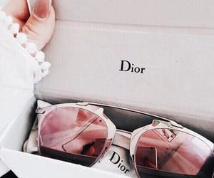 dior, pink, and influencer image