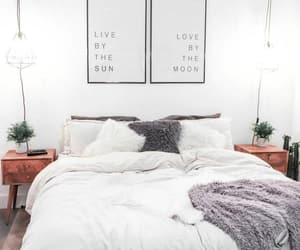 house, bedroom, and decoration image