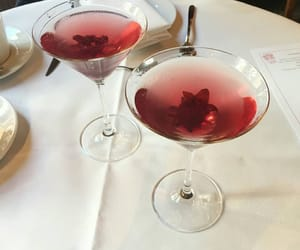 drink, red, and food image