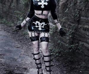 fashion, satan, and goth image
